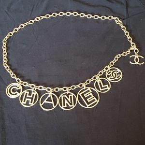 Chanel Lettered Belt